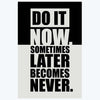 Do It Now Motivational Posters
