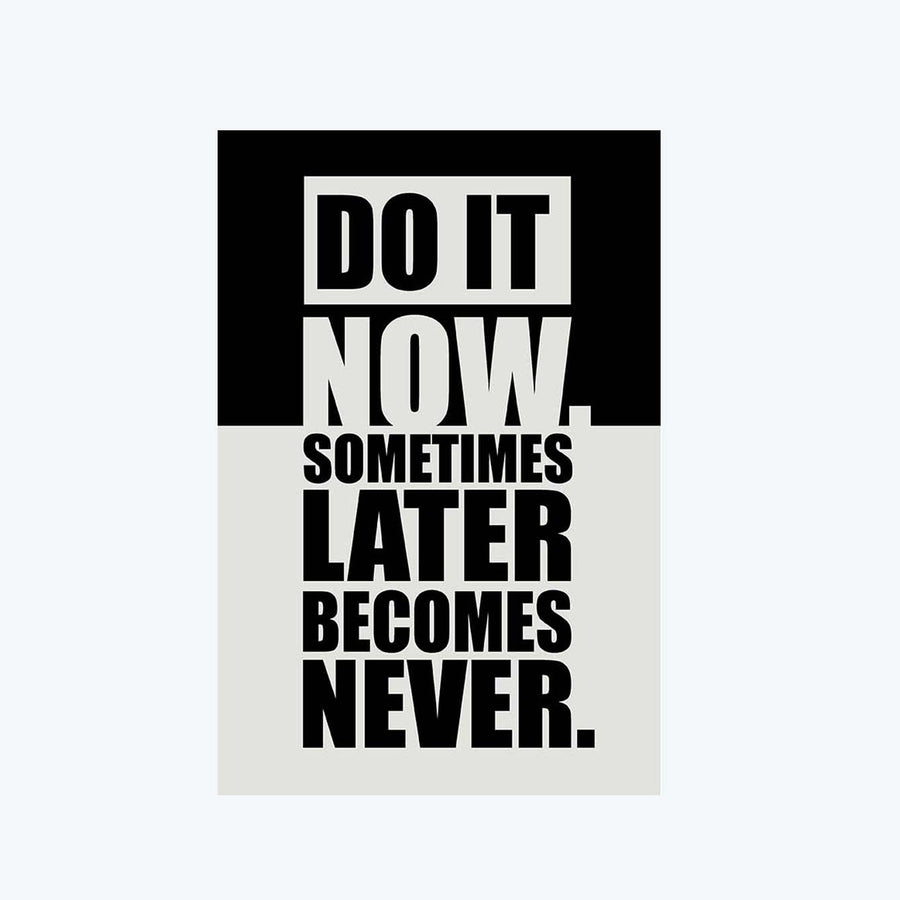 Do It Now Postcard