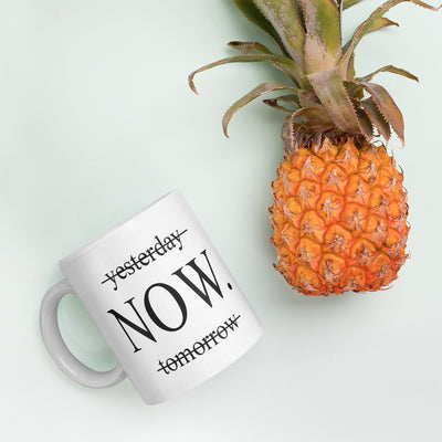 Yesterday | Now | Tomorrow Mug