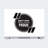 Don't Stop Until You're Proud Motivational Laptop Skin Online
