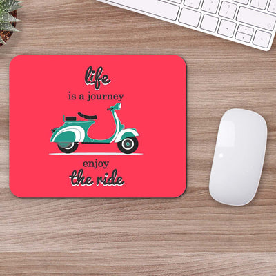 Buy Life is a Journey Humour Mouse Pads Online