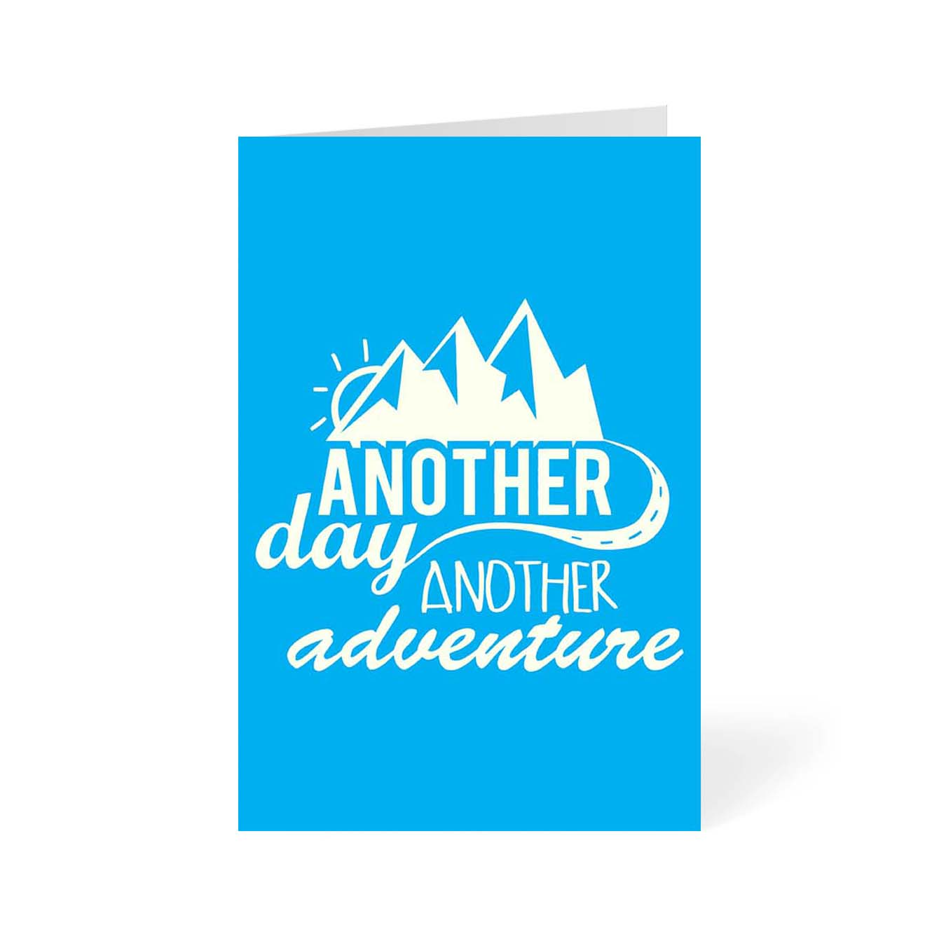Another Day Another Adventure Motivational Greeting Card Online