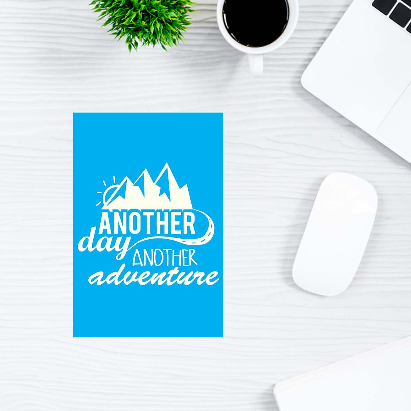 Another Day Another Adventure Motivational Post Cards Online