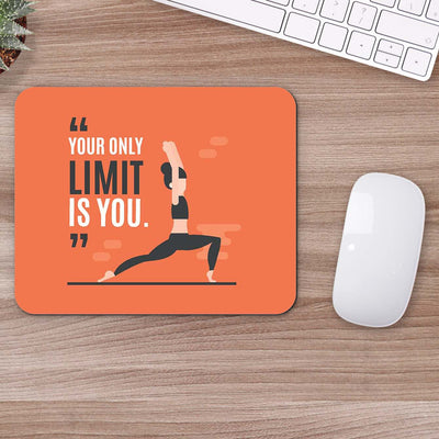 Buy Your Only Limit Is You Motivational Mouse Pads Online