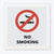 No Smoking   Framed Poster