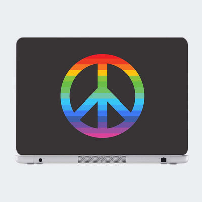 Peace Humour Laptop Skin Online