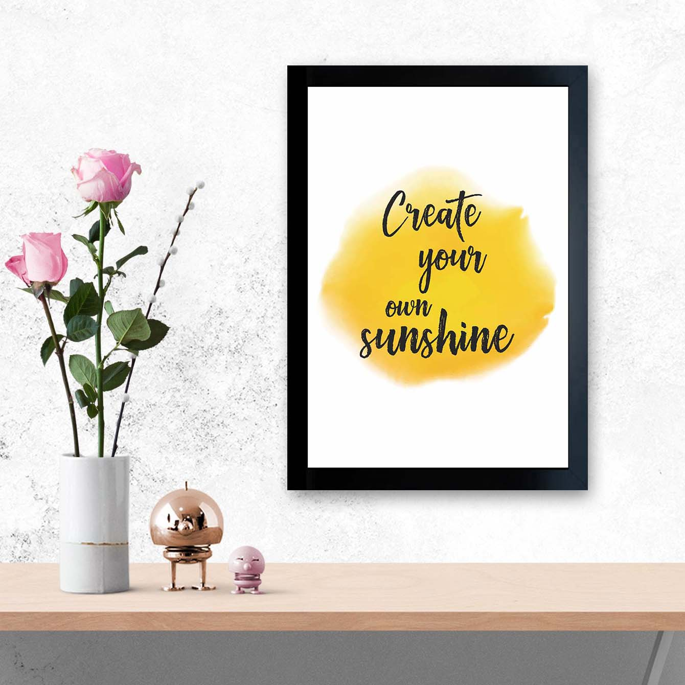 Create Your Own Sunshine Framed Poster