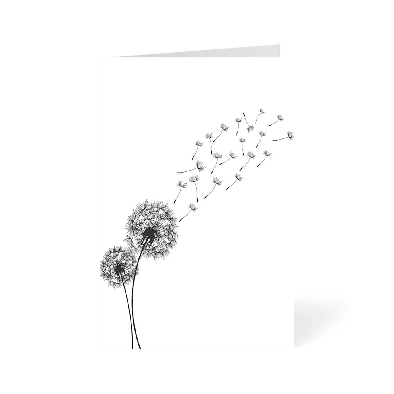 Dandelion Flower Flower Greeting Card Online