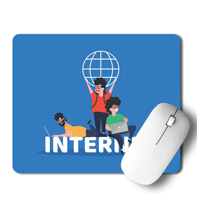 Internet Business Mouse Pad