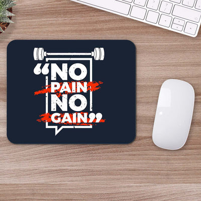 Buy No Pain No Gain Gym Mouse Pads Online