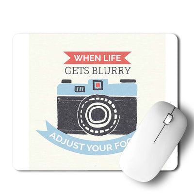 Adjust the Focus Mouse Pad
