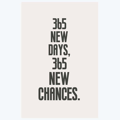 New chances Motivational Posters