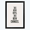 New chances Framed Poster