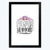 Future is Female   Framed Poster