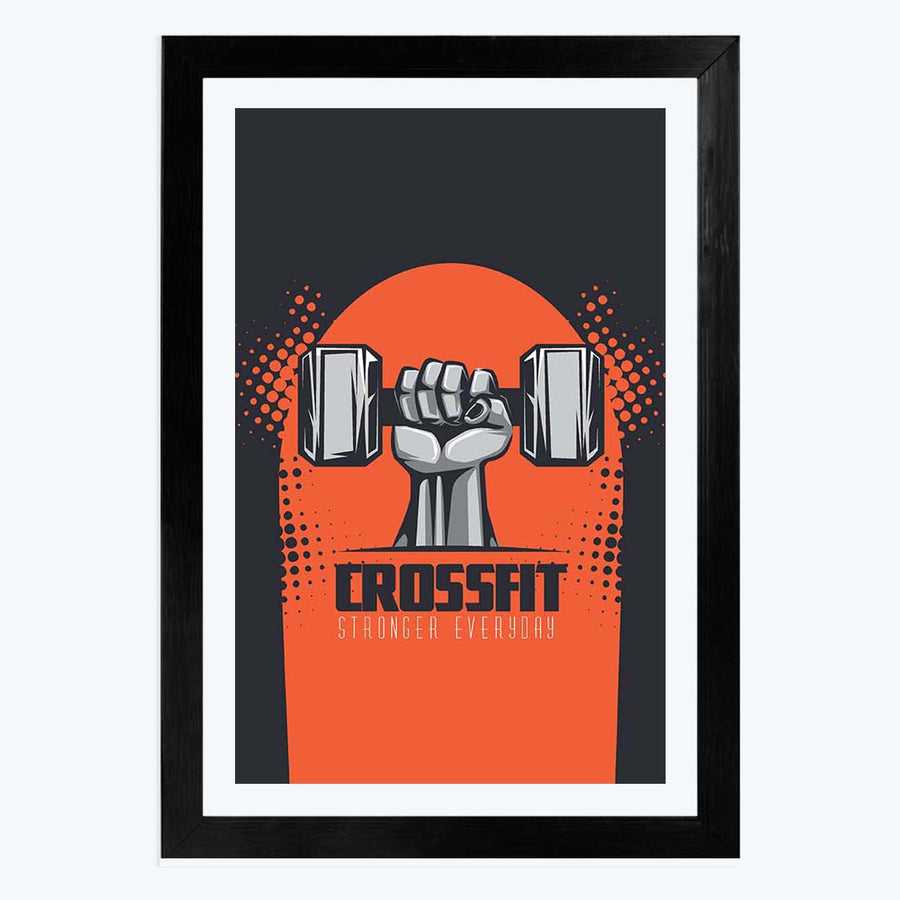 CrossFit Framed Poster