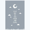 Love you to the Moon Humour Posters