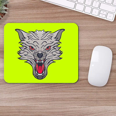 Buy Wolf Face Animal Mouse Pads Online