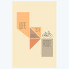 Life is Crazy Ride Typography Posters