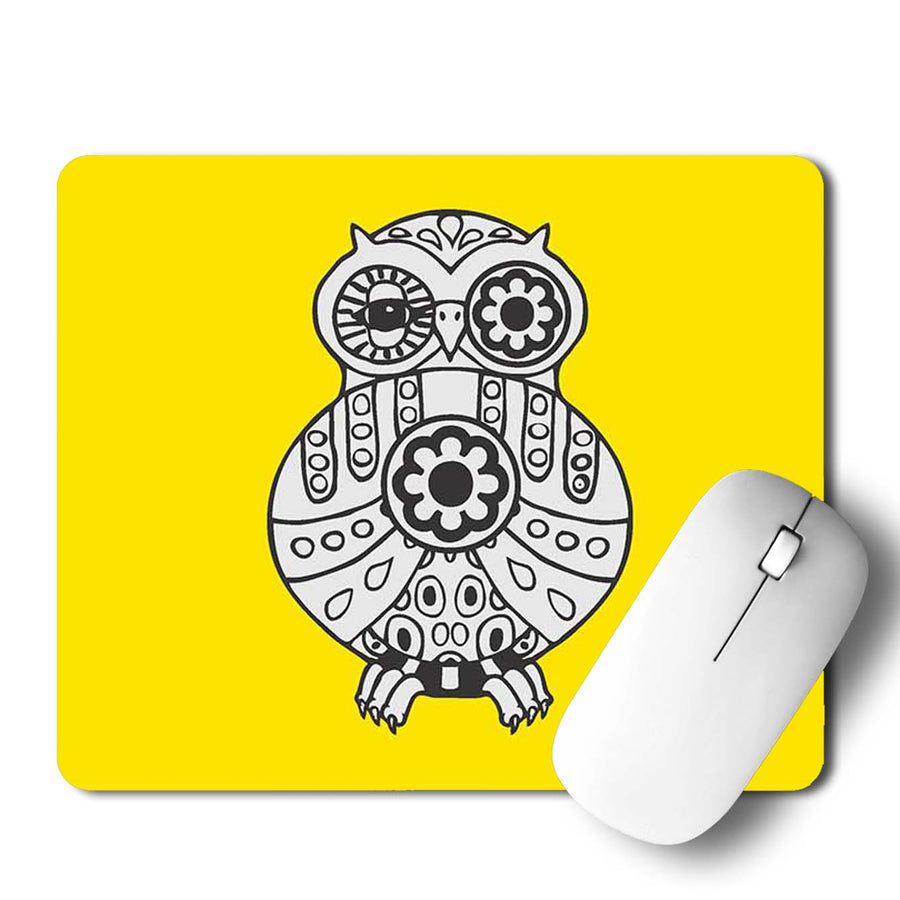 Buy Owl Geometry Abstract Mouse Pads Online
