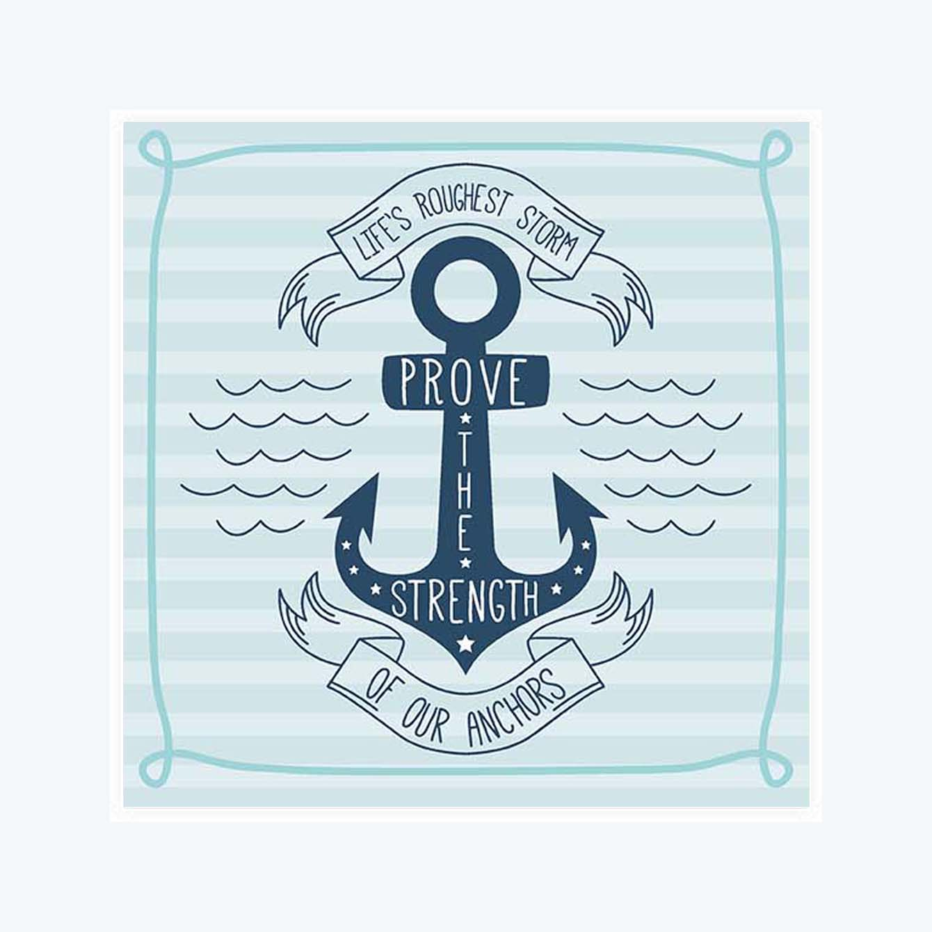 Anchor Pride Sticker