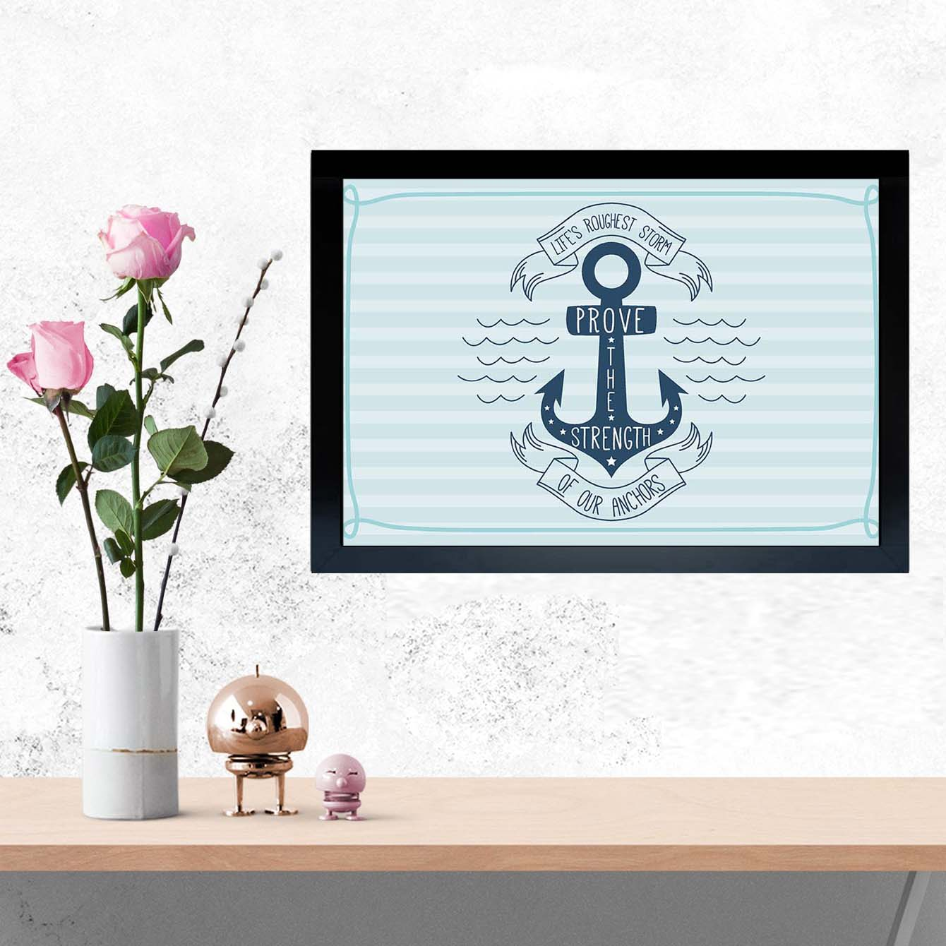 Anchor Pride Framed Poster