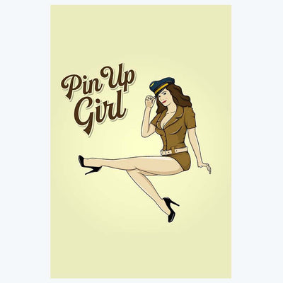Pin up Girl Pop Art Posters