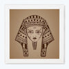 Egypt Mummy Retro Glass Framed Posters & Artprints