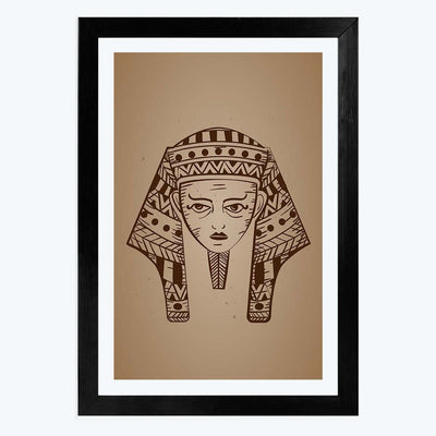 Egypt Mummy   Framed Poster