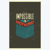 Impossible is Nothing Office Posters