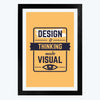 Thinking Made Visual Framed Poster
