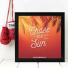 Chase the Sun  Framed Poster