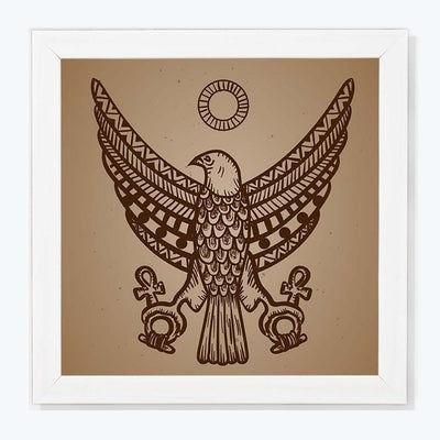 Eagle Wall Art Retro Glass Framed Posters & Artprints