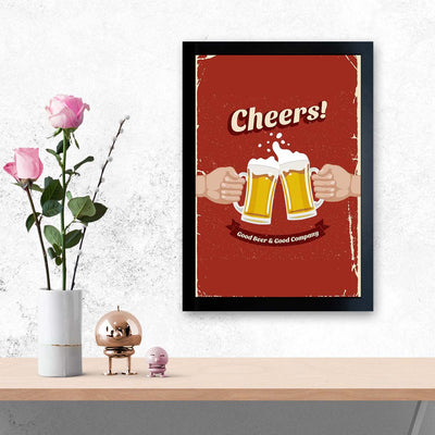 Cheers   Framed Poster