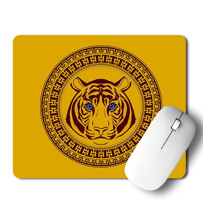 Lion Face Mouse Pad