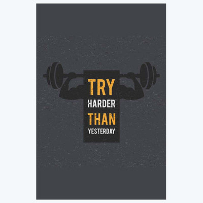 Try Happier Gym Posters