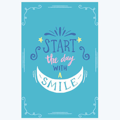 Thee Day with Smile Typography Posters
