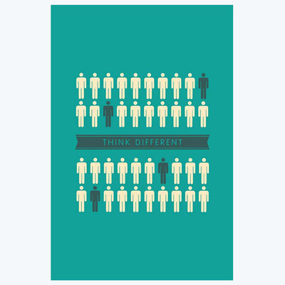 Think Different Office Posters