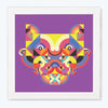 Colourful Face box Pop Art Glass Framed Posters & Artprints