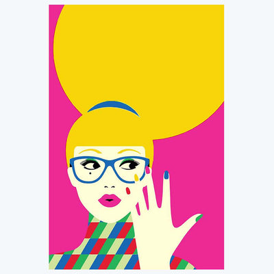 Pop Lady Pop Art Posters