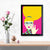 Pop Lady Pop Art Glass Framed Posters & Artprints