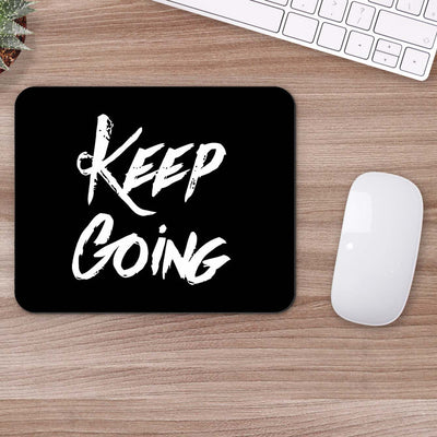 Buy Keep Going Typography Mouse Pads Online