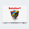 Cube Solution Motivational Laptop Skin Online