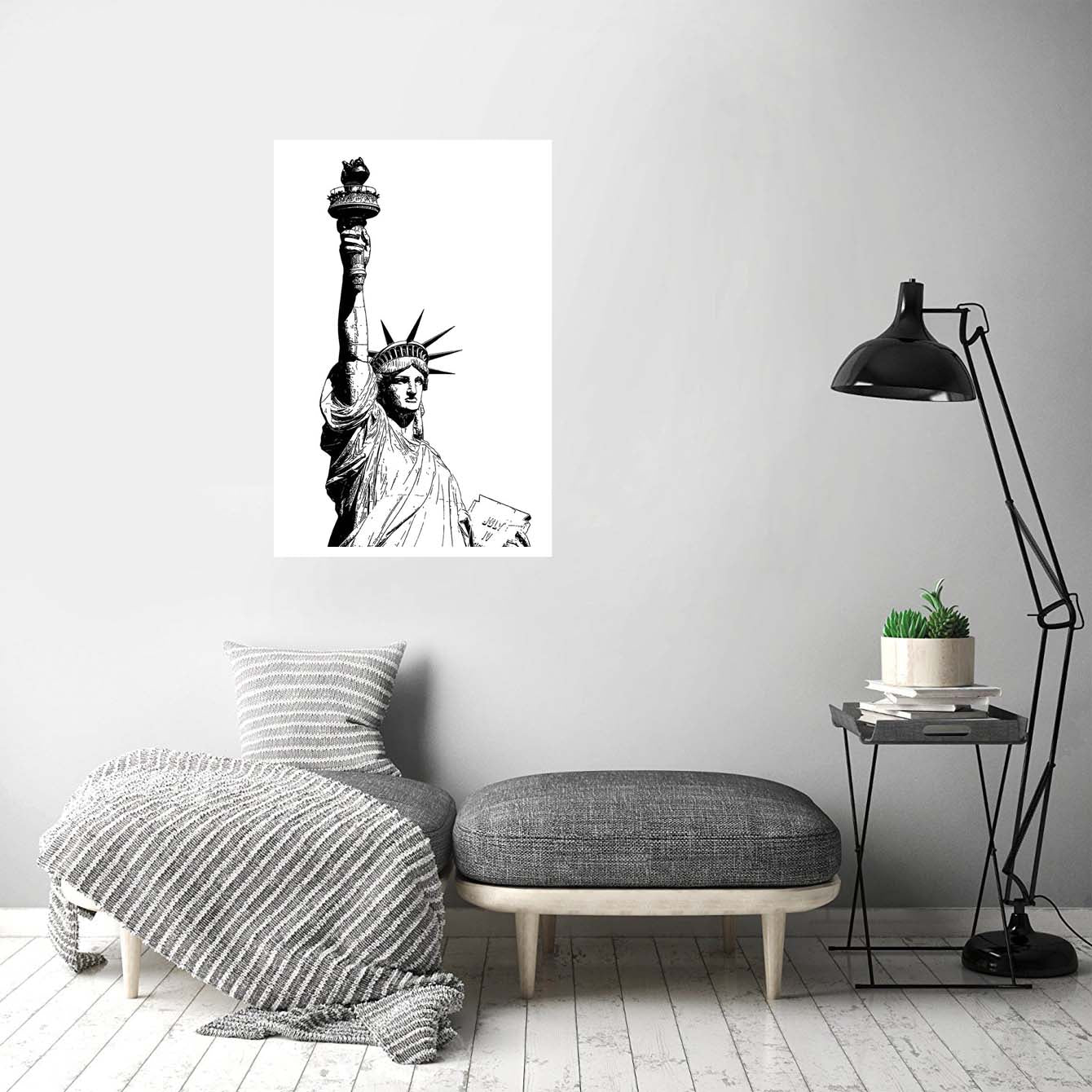 Statue of Liberty Cities Posters