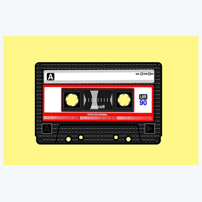 Tape  Artwork Retro Posters