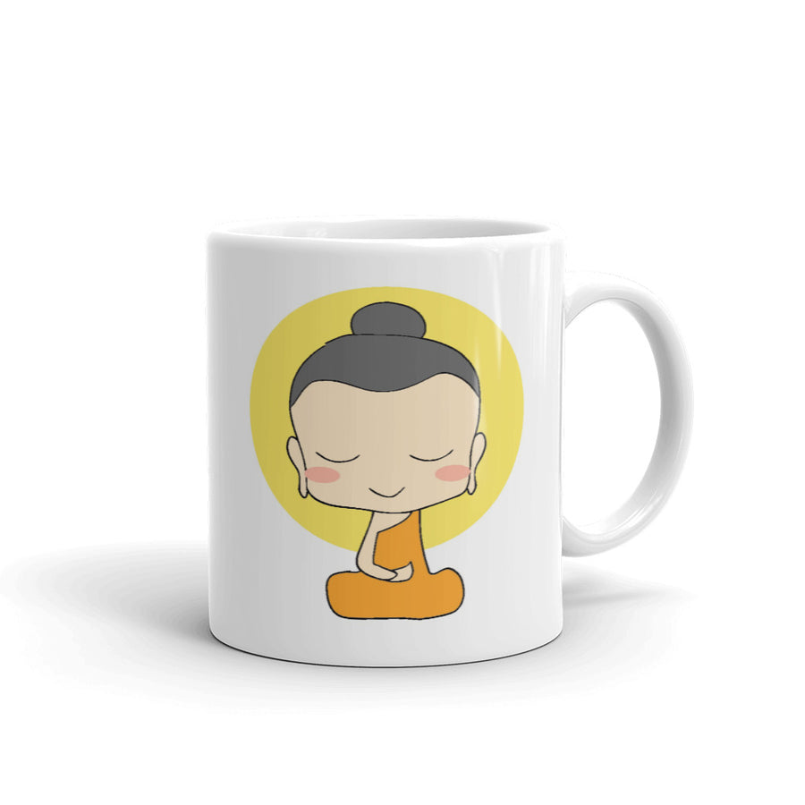 Cute God Buddha Mug