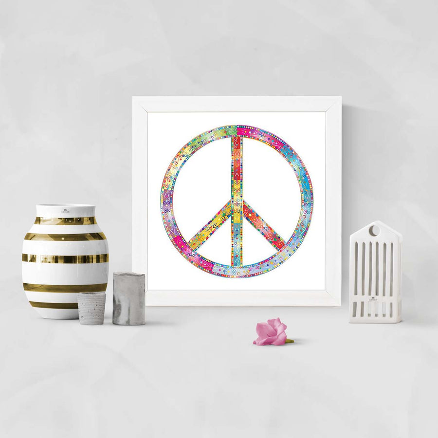 Peace   Framed Poster
