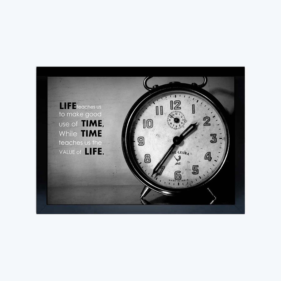 Life Time Framed Poster
