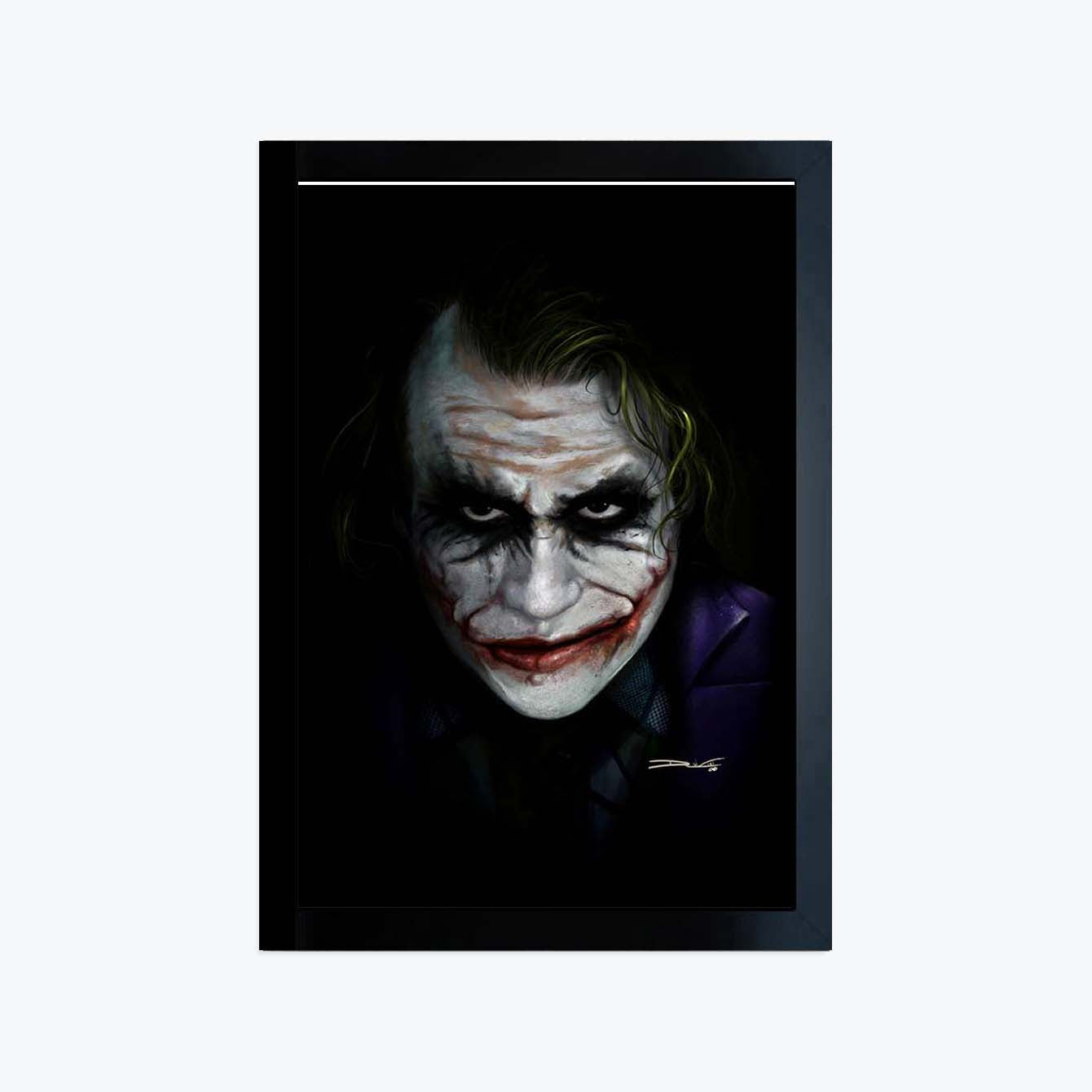 Joker Movies Glass Framed Posters & Artprints