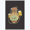 Beer Man Retro Posters