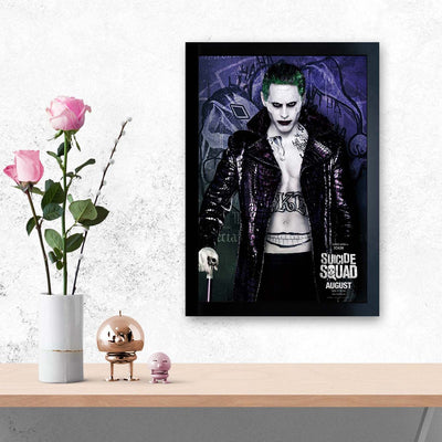 Suicide Squad Movies Glass Framed Posters & Artprints